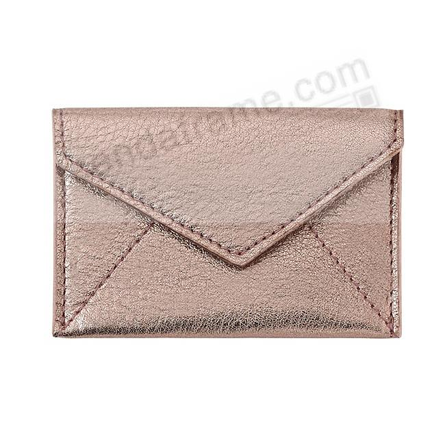 MINI ENVELOPE ROSE-GOLD Leather by Graphic Image®