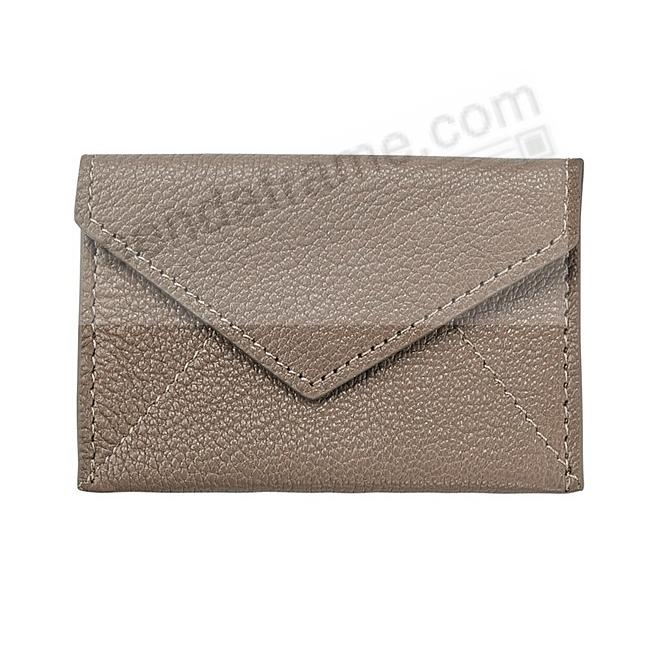 MINI ENVELOPE TAUPE Leather by Graphic Image®