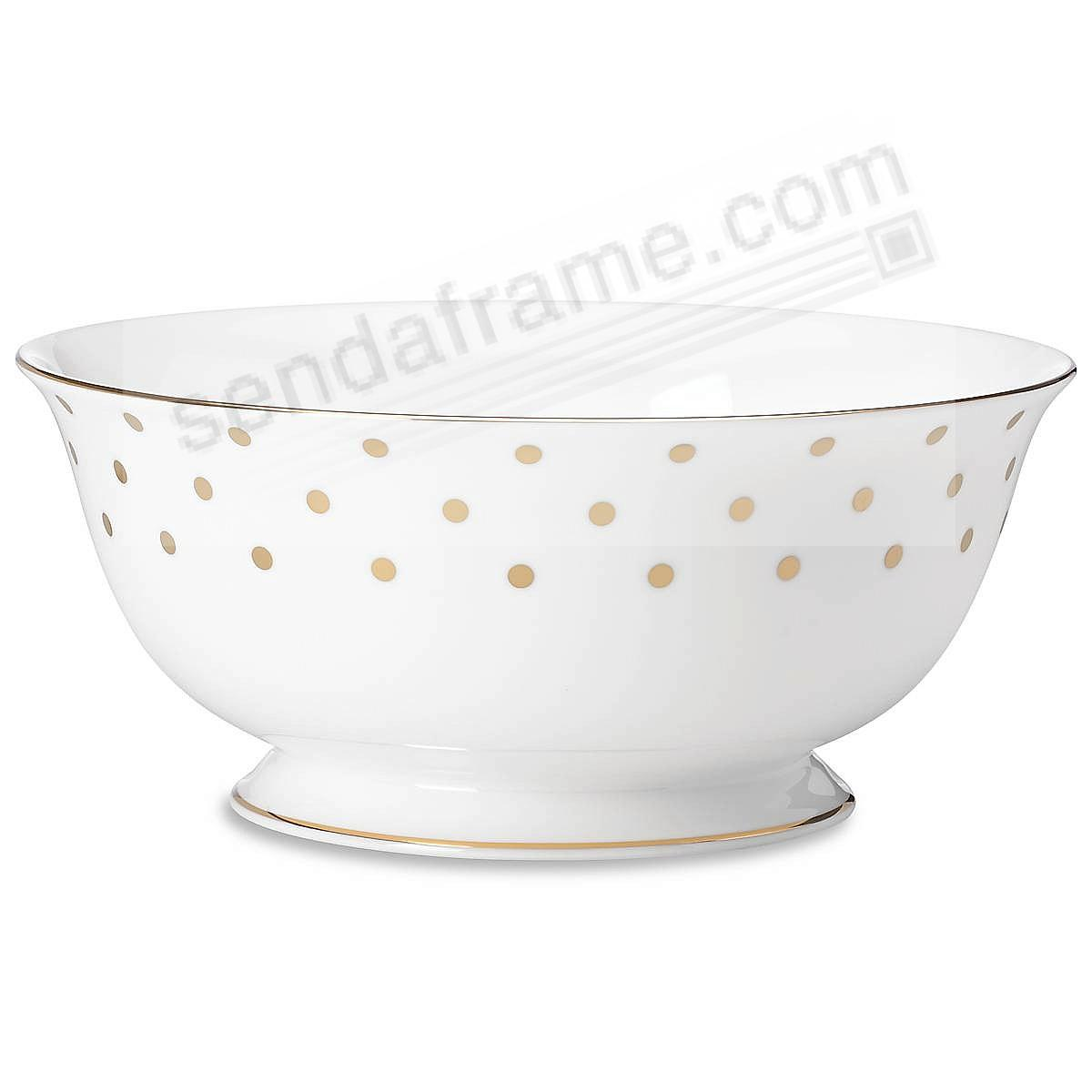 Larabee Road Gold™ Large Serving Bowl by kate spade new york®