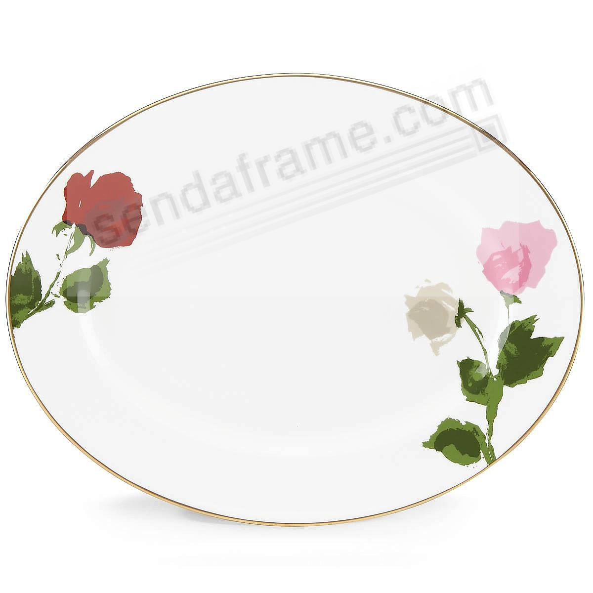 ROSE PARK 13in OVAL Platter by kate spade new york®