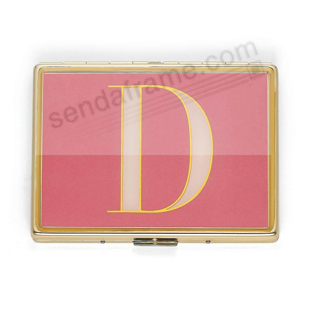 ITS PERSONAL -D- 4in Business Card / ID Case by kate spade new york®