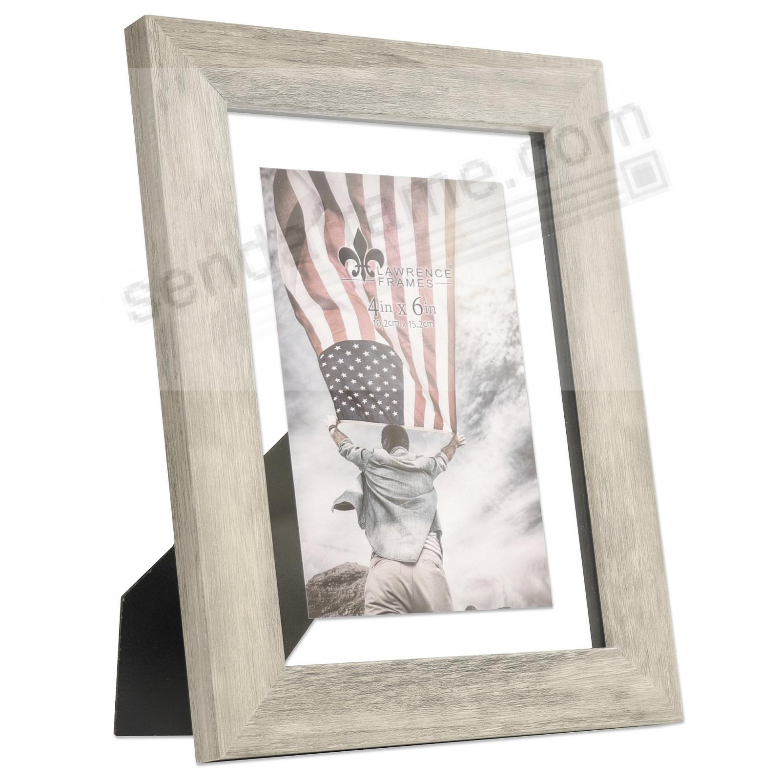 ARDEN WEATHERED FLOAT 6x8/5x7 frame