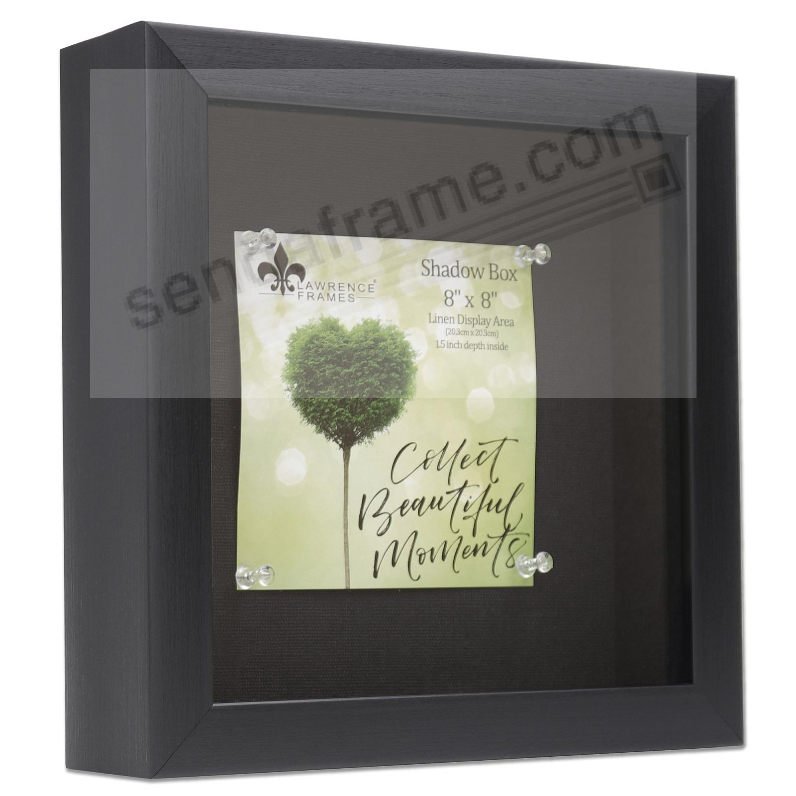 Black Shadow Box 8x8 frame 1½-inch depth by Lawrence®