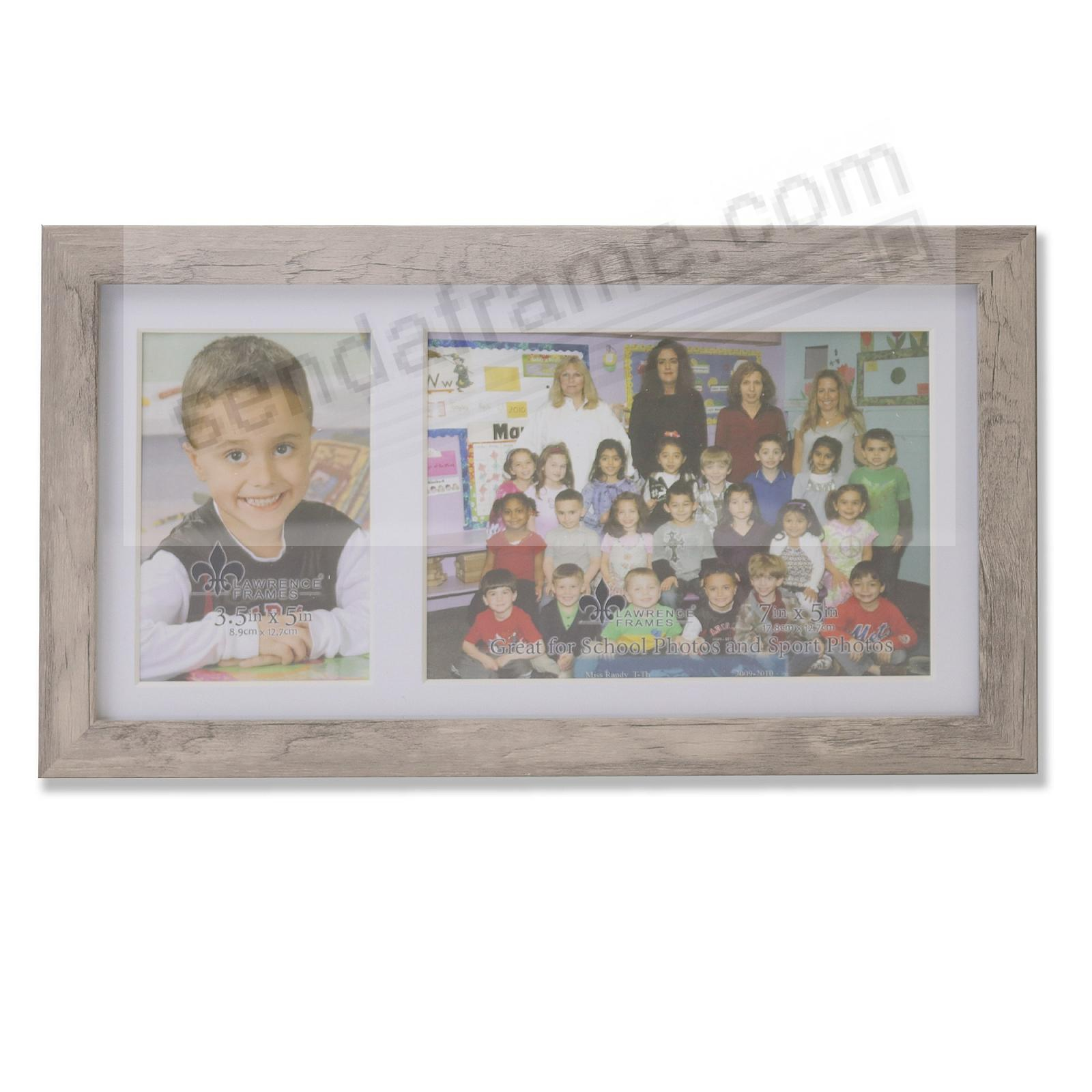Our Team Natural Collage frame 3½x5/7x5 instantly personalizes your group