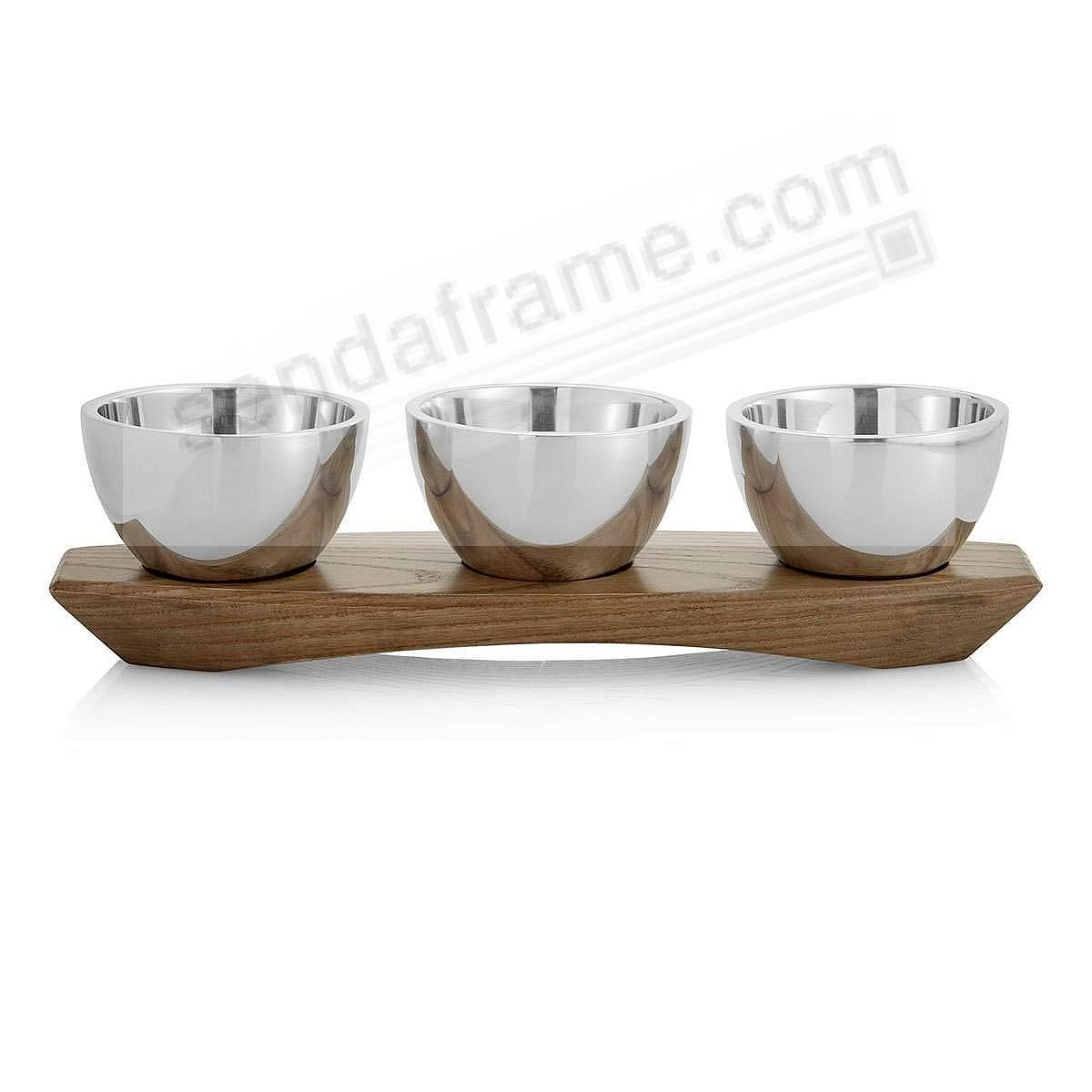 The CABO CONDIMENT Server crafted by Nambe®