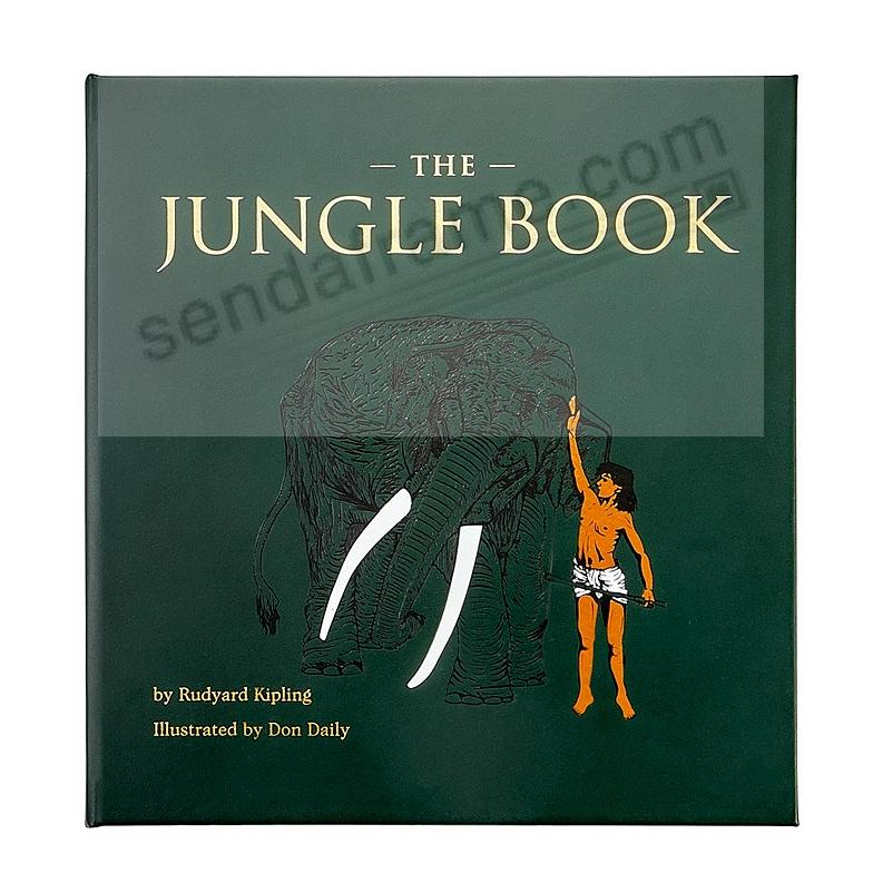 THE JUNGLE BOOK In Hand-Tooled Luxe Leather