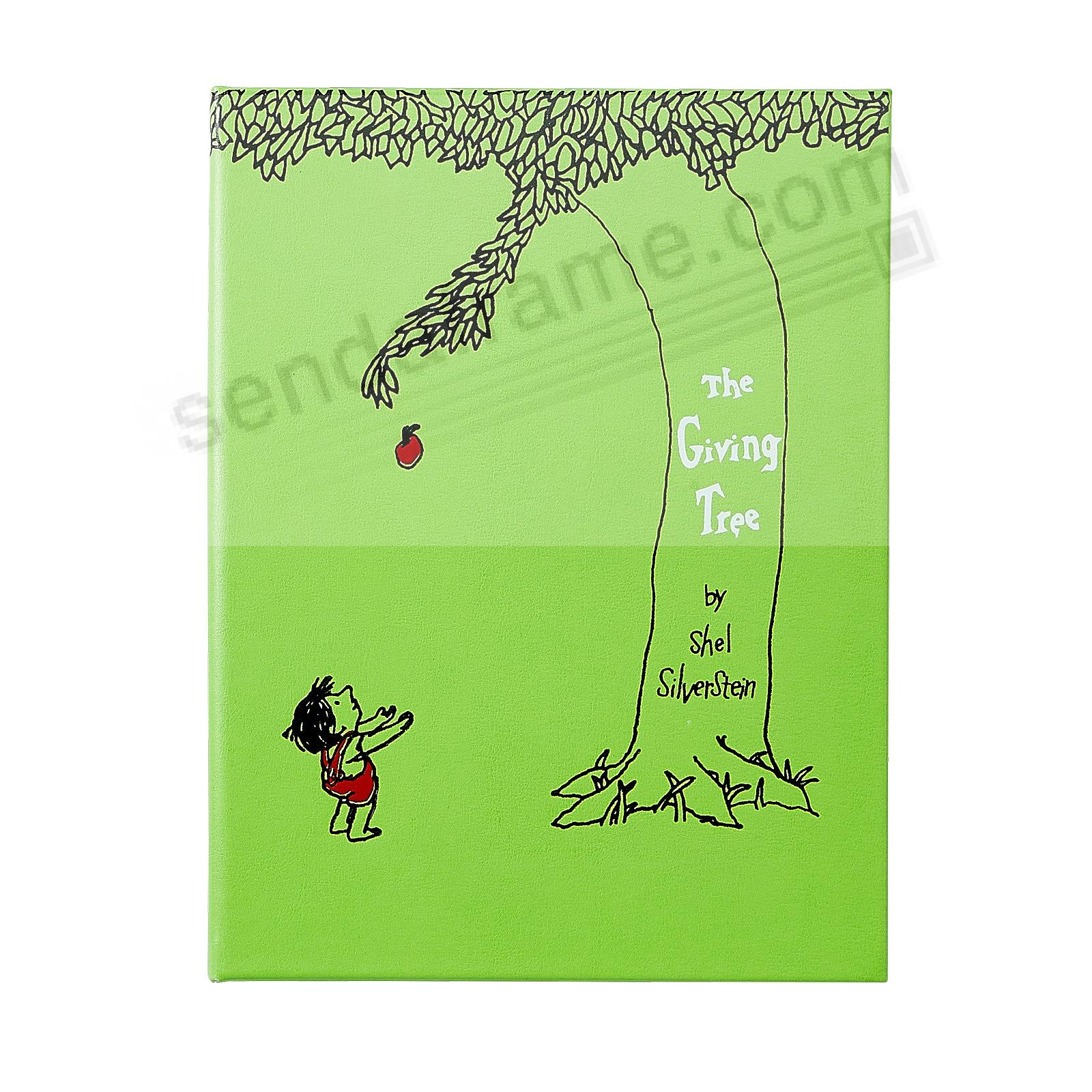 THE GIVING TREE by Shel Silverstein In Hand-Tooled Bonded Leather