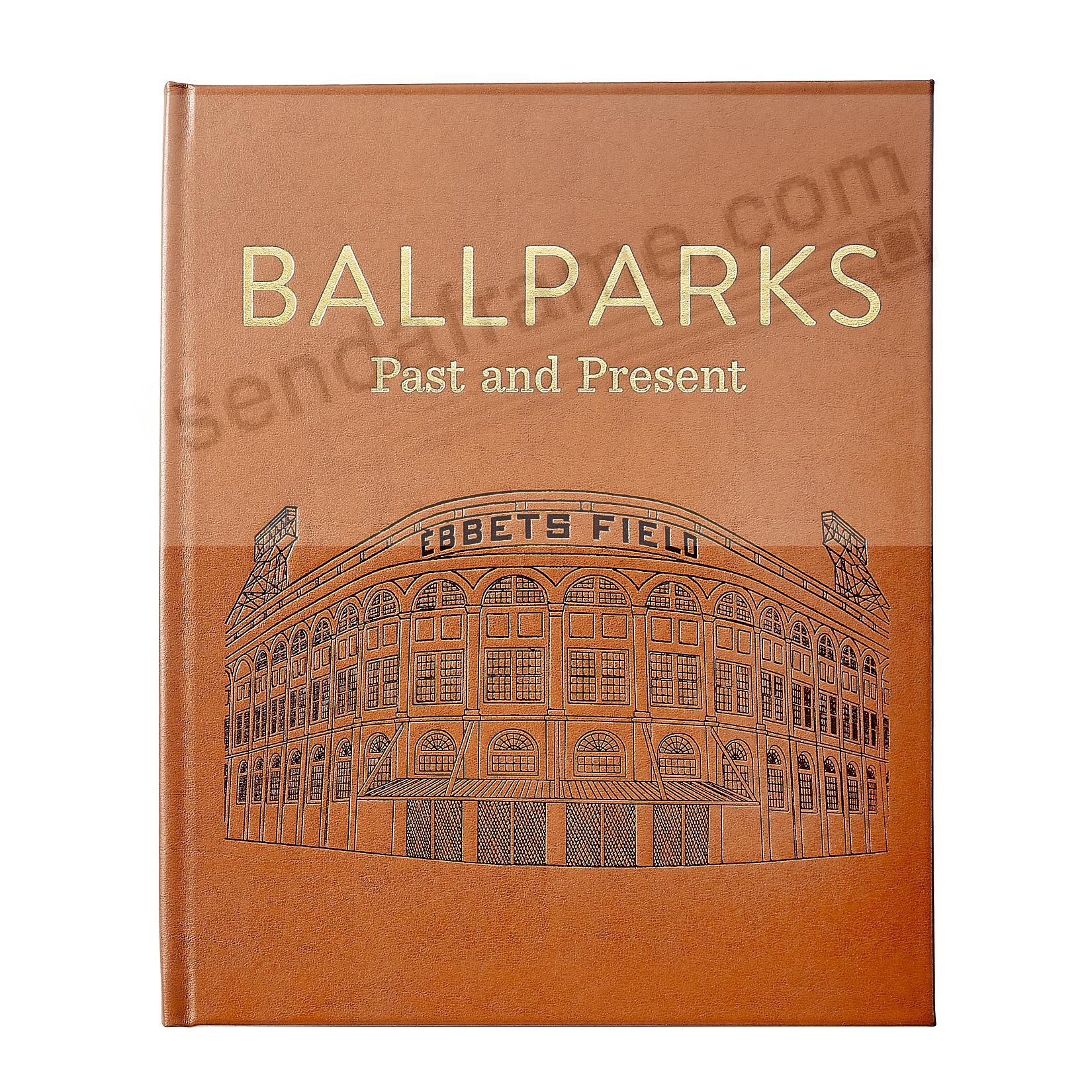 BALLPARKS PAST AND PRESENT In Hand-Tooled Luxe Leather