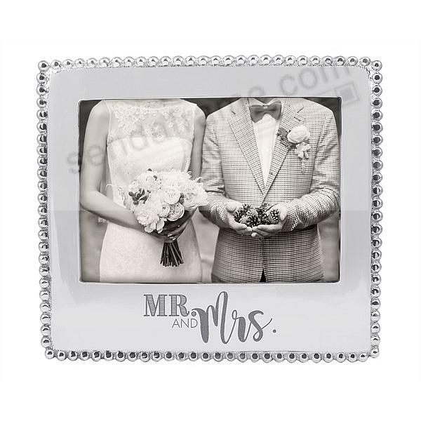 MR and MRS STATEMENT frame for your 7x5 photo by Mariposa®