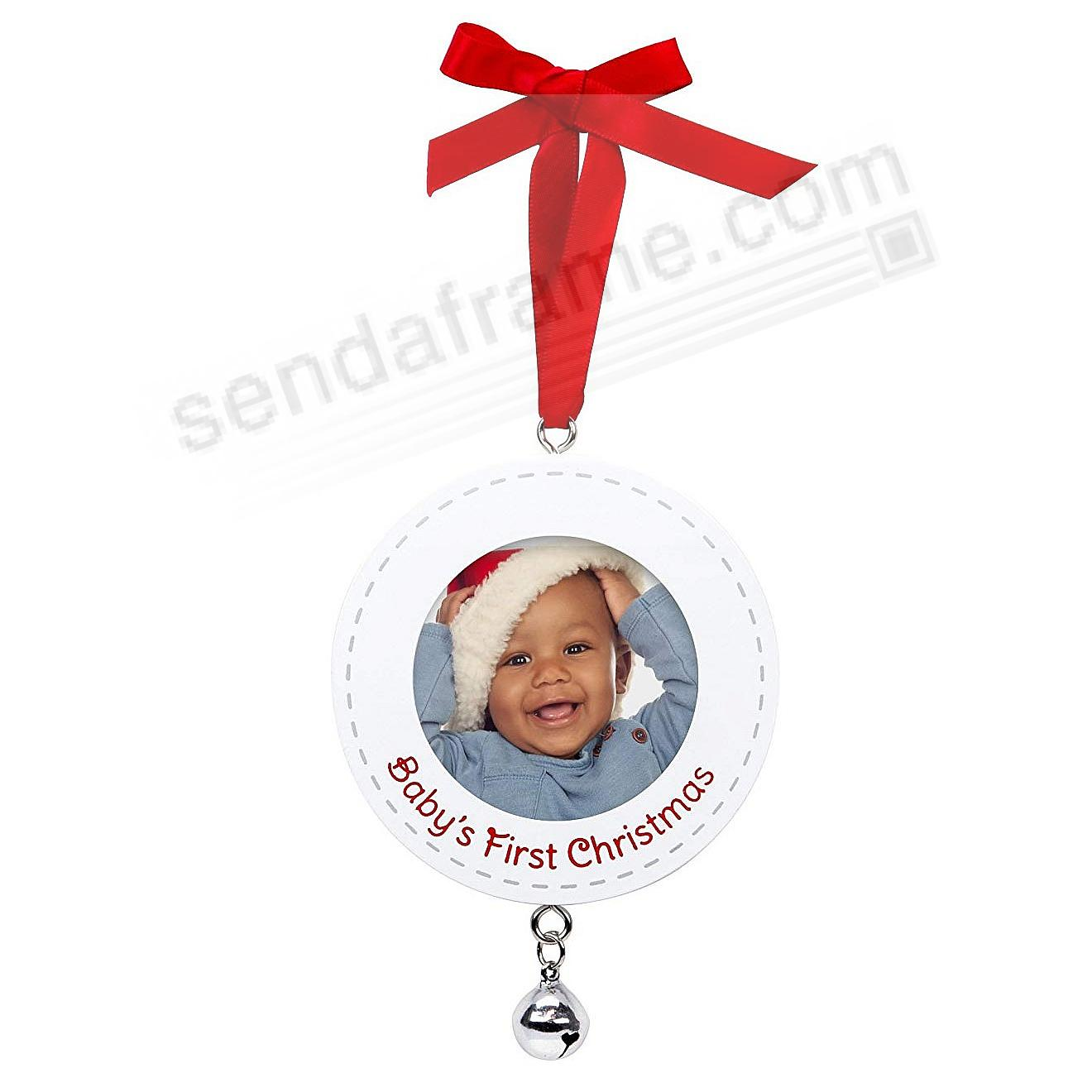 BABY'S FIRST CHRISTMAS ORNAMENT by Pearhead®