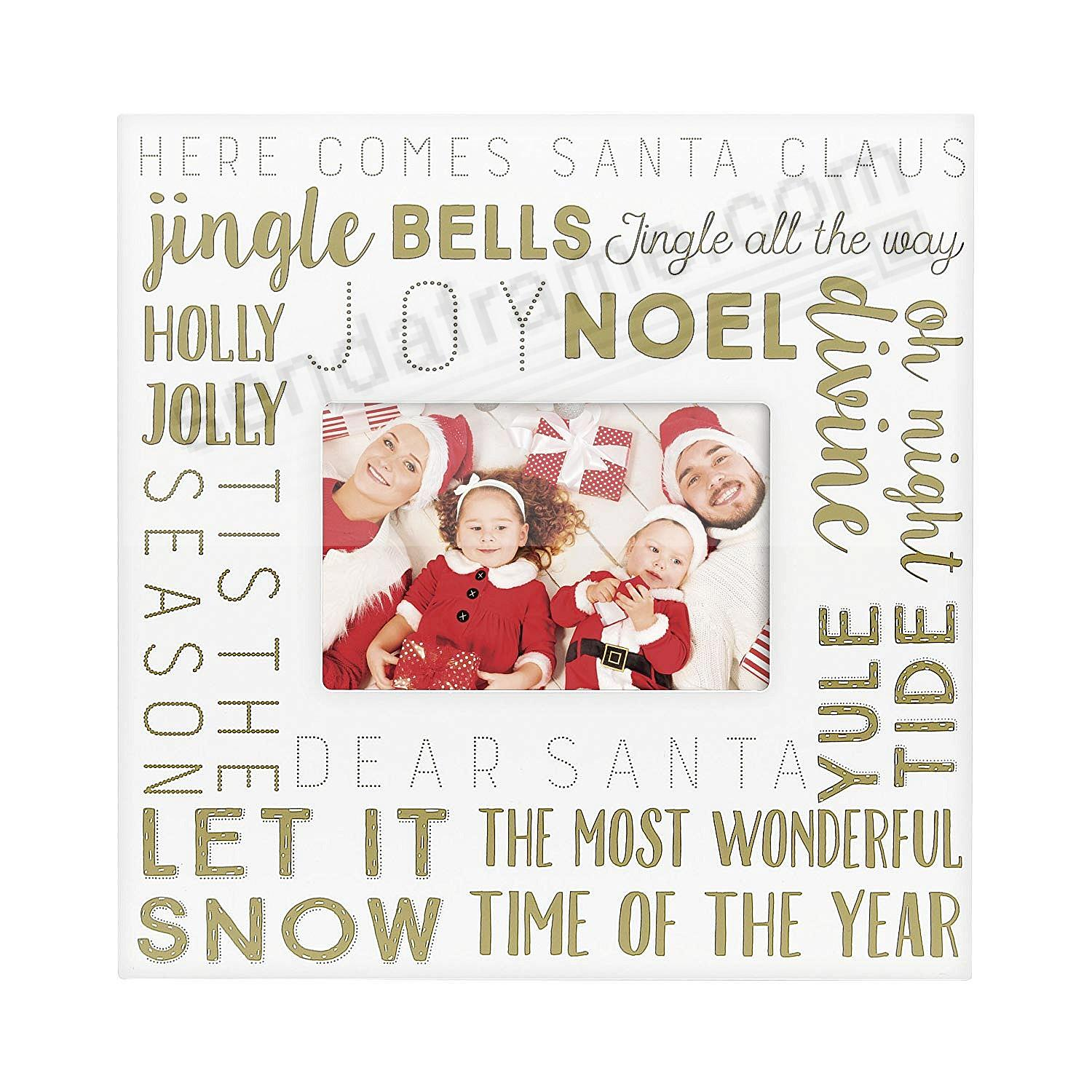 CHRISTMAS SONG WALL frame by Pearhead®