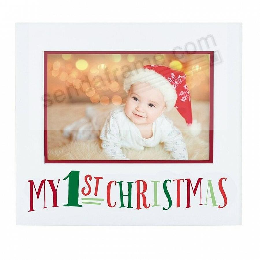 BABY'S FIRST CHRISTMAS FRAME by Pearhead®
