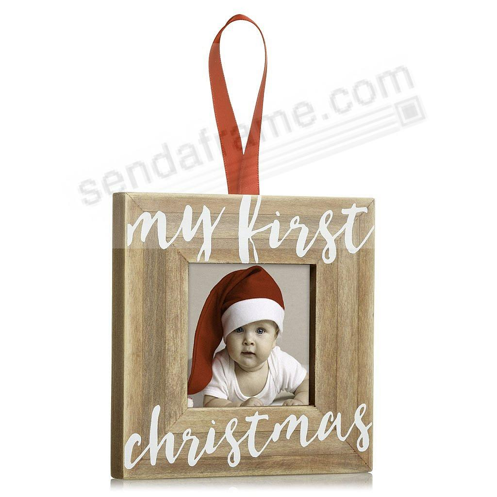 MY FIRST CHRISTMAS ORNAMENT by Pearhead®