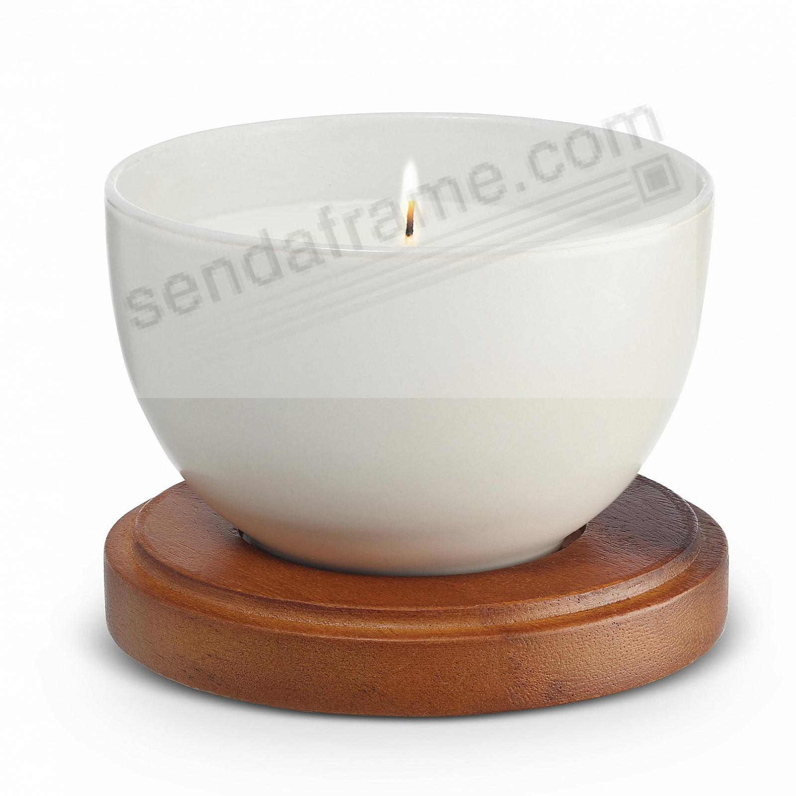 STARRY WHITE Prism Candle with Lid by Nambe®