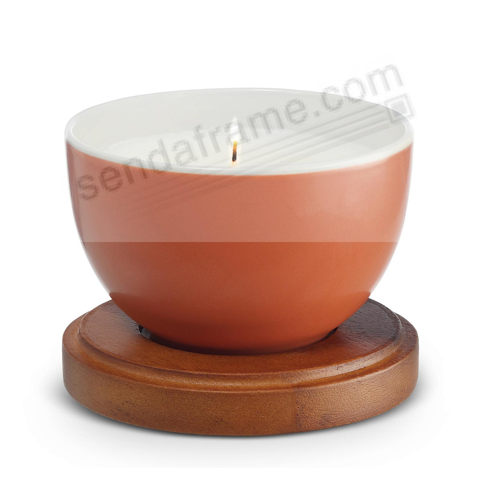 PERSIMMON Prism Candle with Lid by Nambe®