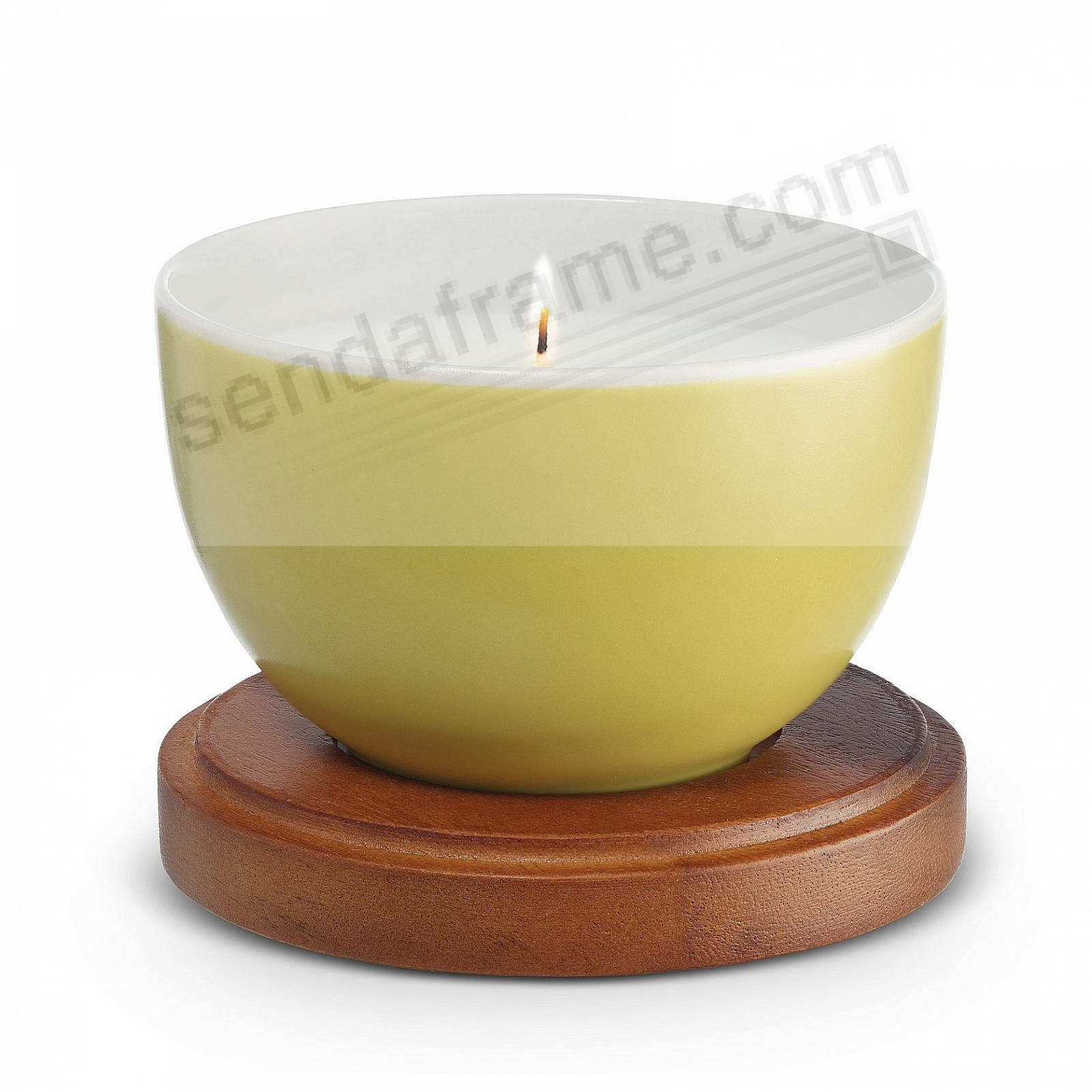 CITRON Prism Candle with Lid by Nambe®