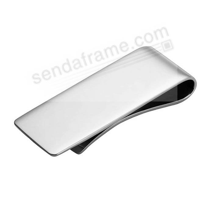 Fine Sterling Silver Money Clip - Engraveable - by Cunill® Italy