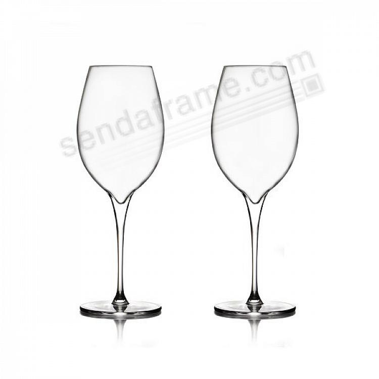 The VIE PINOT GRIGIO Glasses by Nambe® (set of 2)