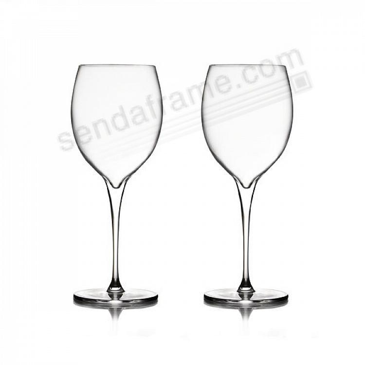 The VIE CHARDONNAY Glasses by Nambe® (set of 2)