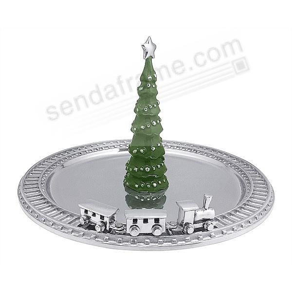The Original GREEN CHRISTMAS TREE SERVER by Mariposa®