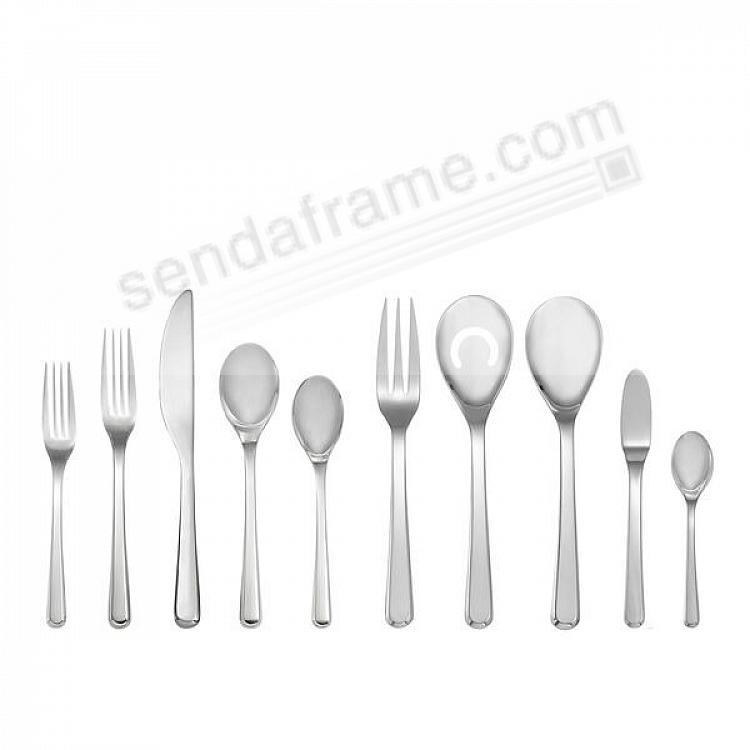 The AURA 45PC Flatware Set by Nambe®