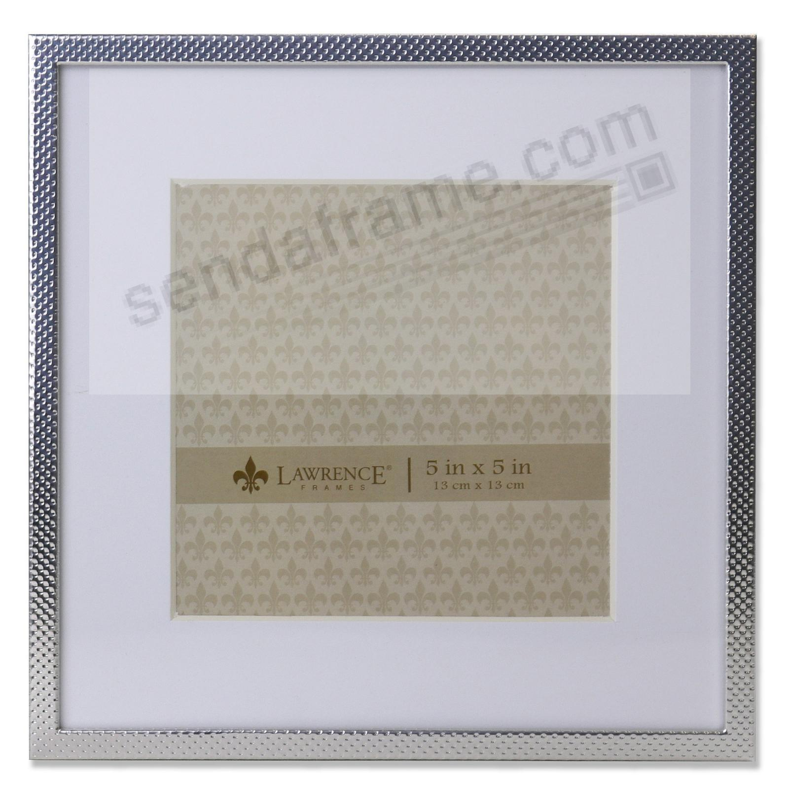 Metallic Swiss-dot pattern with mat 7x7/5x5 by Lawrence Frames®