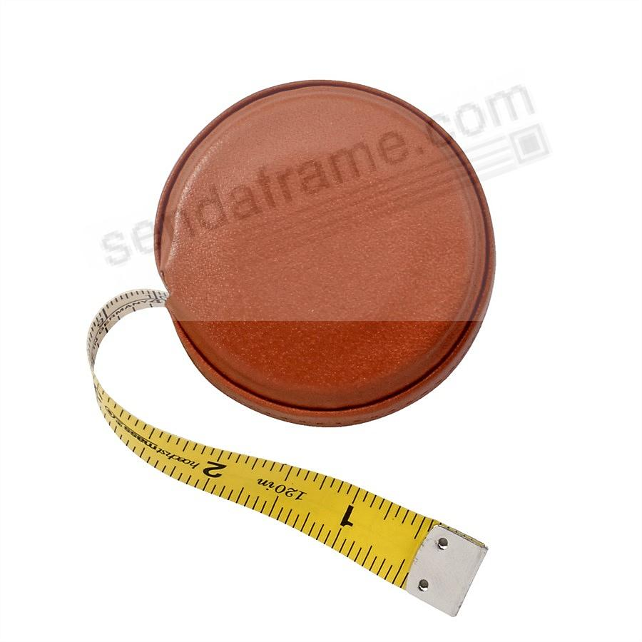 Tape Measure Red Vachetta Leather by Graphic Image™