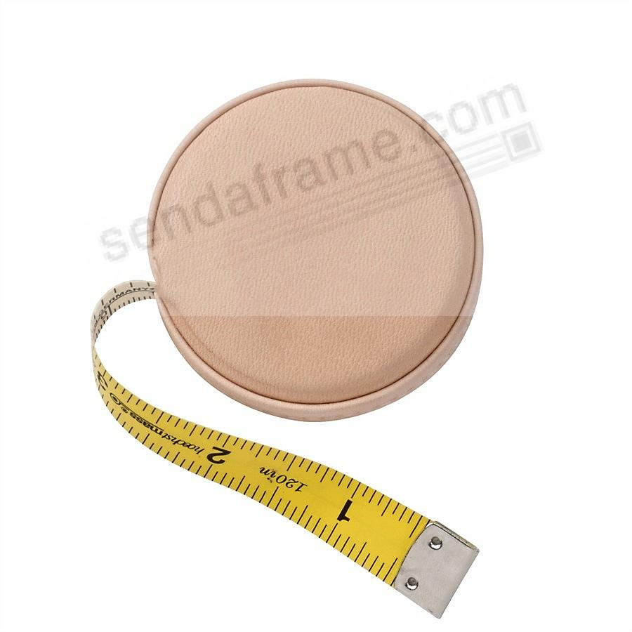 Tape Measure Natural Vachetta Leather by Graphic Image™