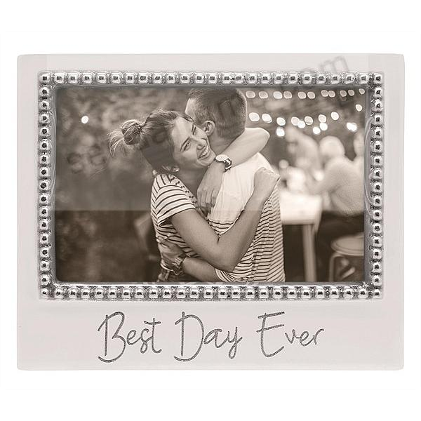 BEST DAY EVER Statement 6x4 frame by Mariposa®