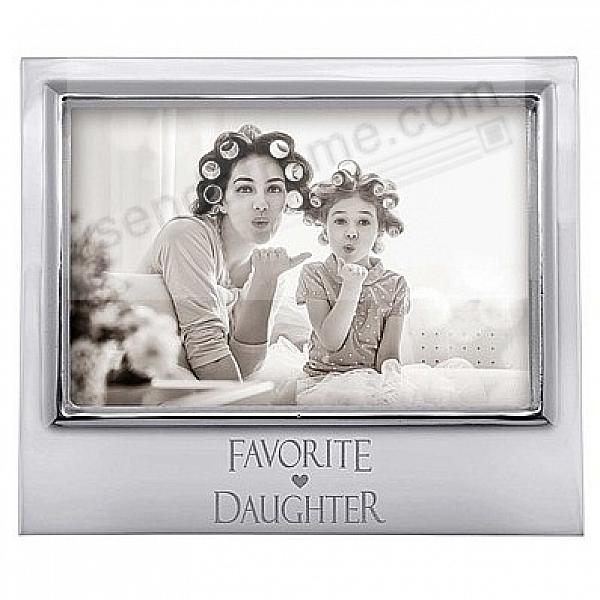 FAVORITE DAUGHTER 6x4 SIGNATURE frame by Mariposa®