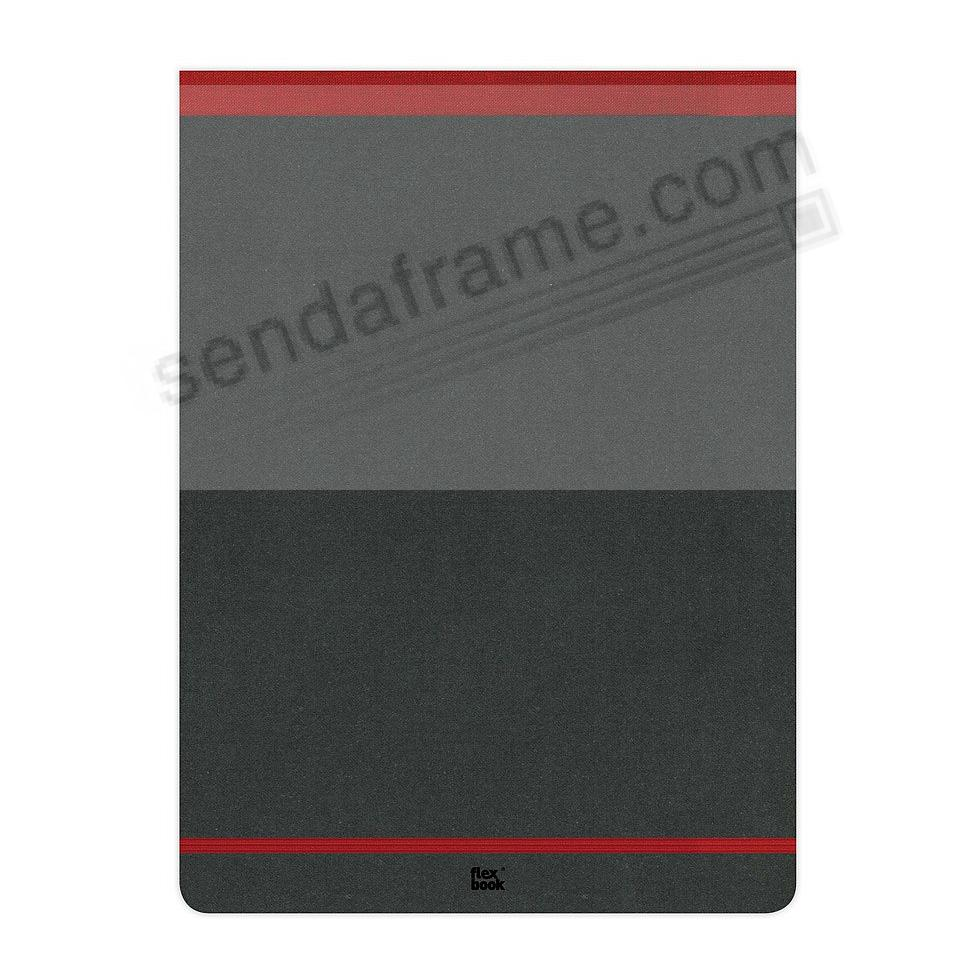 FLEXBOOK NOTEPAD 8¼x11 Ruled Red by PratParis®