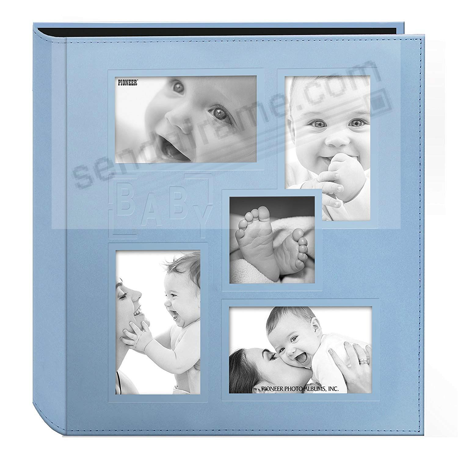 Collage Cover Frame Embossed BLUE BABY by PIONEER