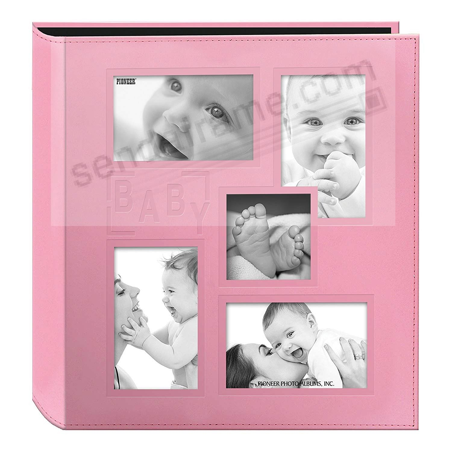Collage Cover Frame Embossed PINK BABY by PIONEER