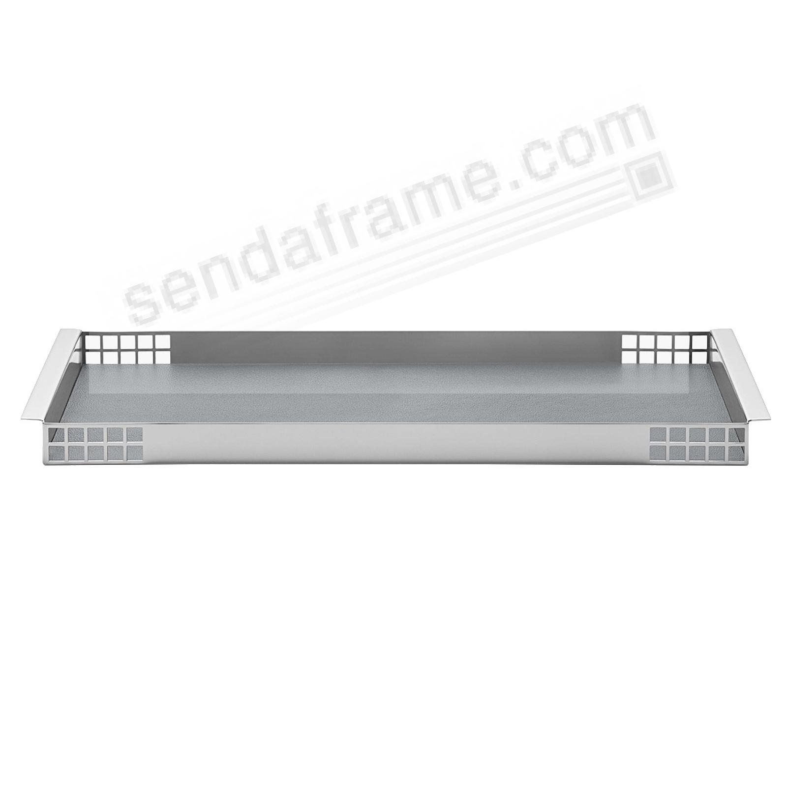 The MATRIX TRAY (Medium) 15x5 by Georg Jensen®