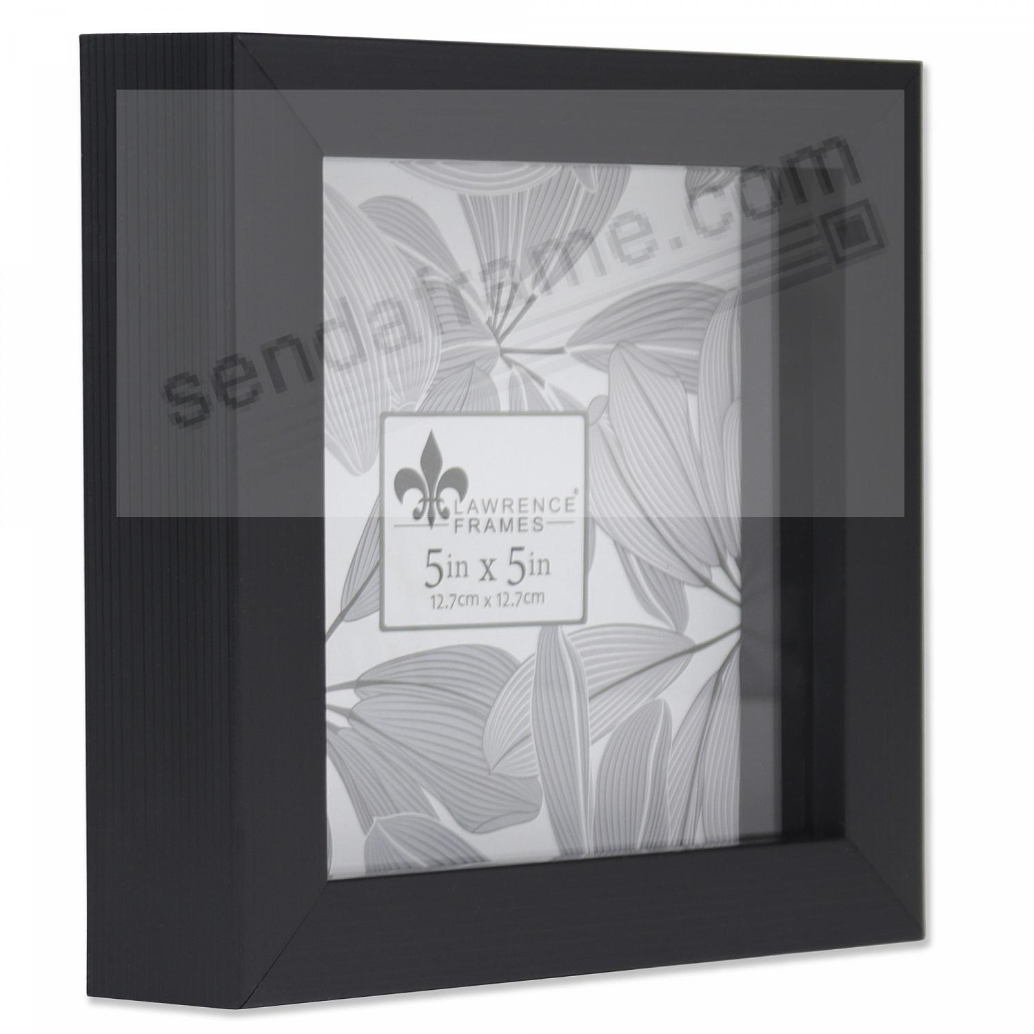 WEATHERED BLACK Shadow Box 5x5 frame ¾in depth by Lawrence®