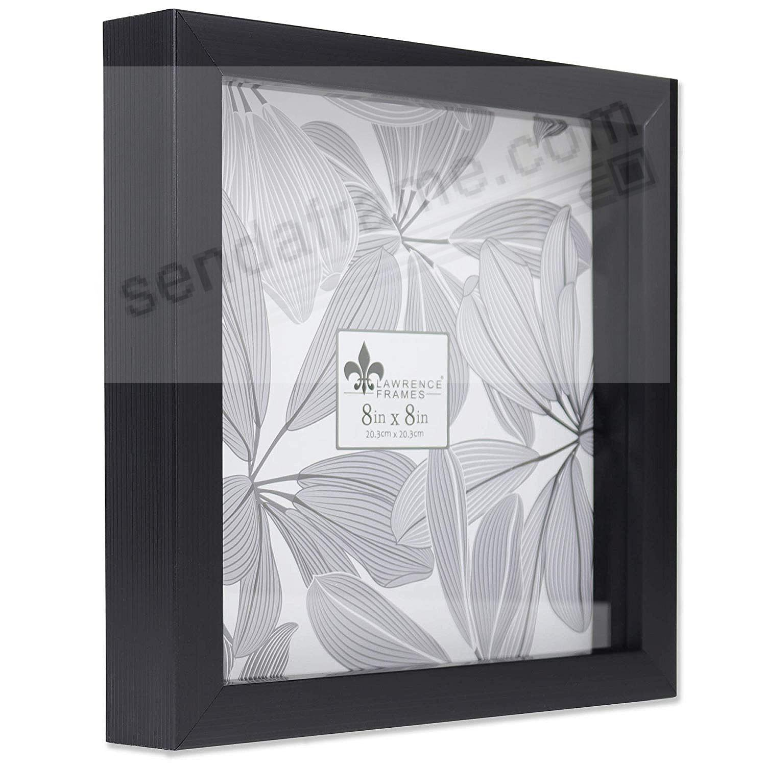 WEATHERED BLACK Shadow Box 8x8 frame ¾in depth by Lawrence®
