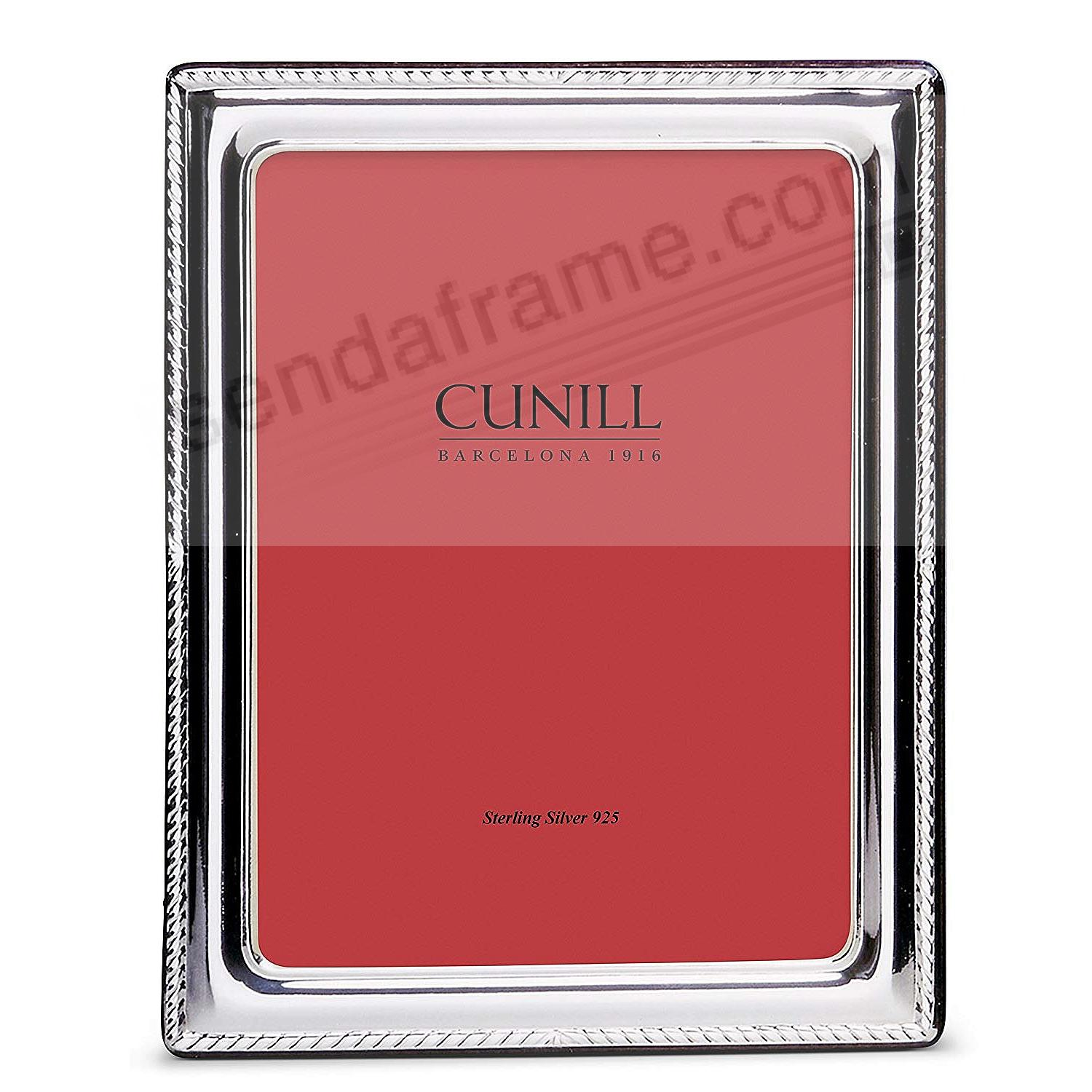 ELEGANCE Fine Sterling Silver 8x10/7x9 by Cunill®