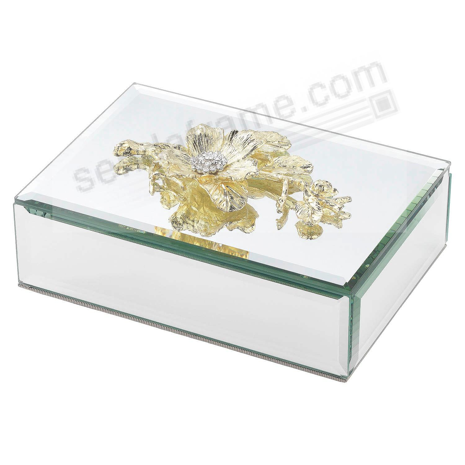 GOLD BOTANICA BOX by Olivia Riegel®