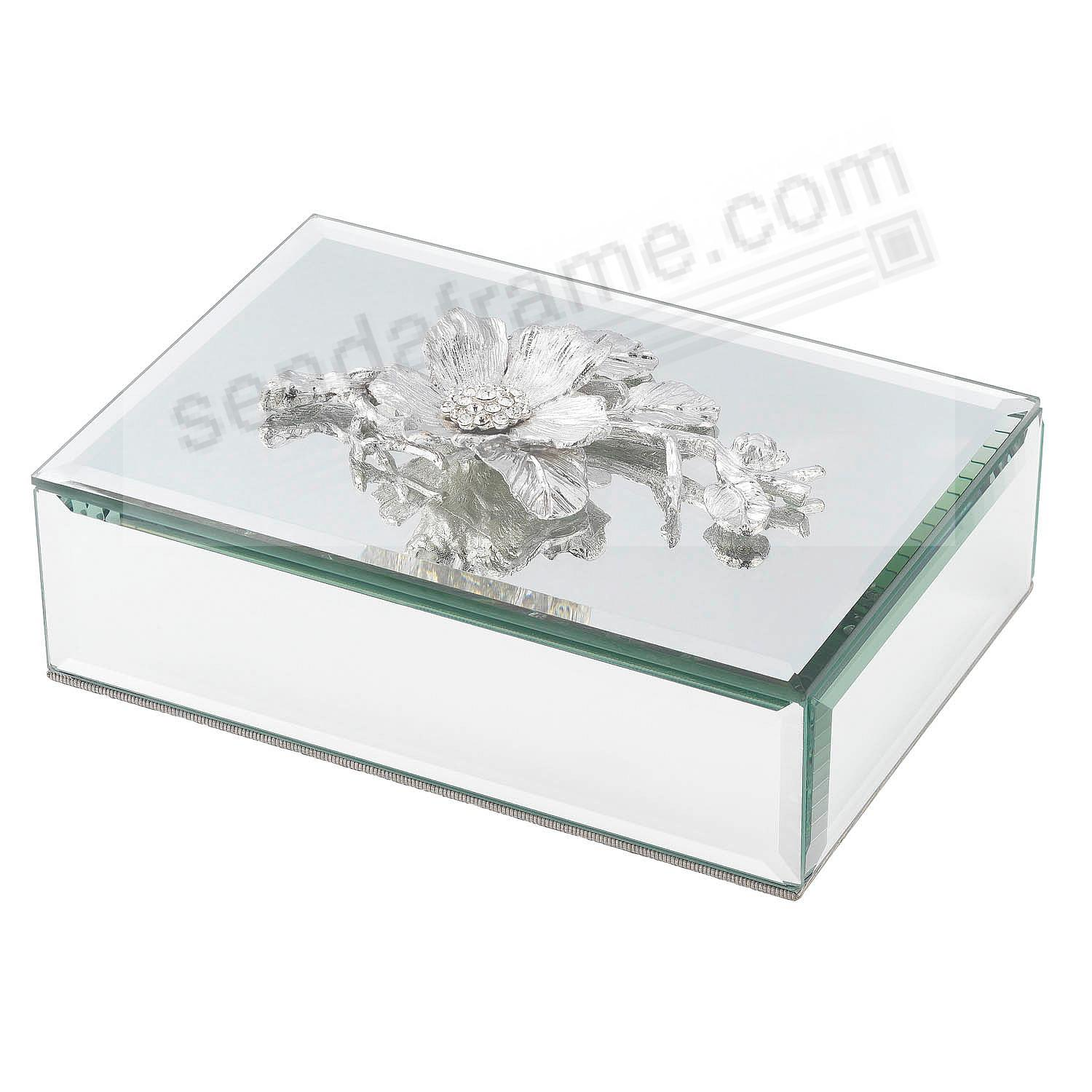 SILVER BOTANICA BOX by Olivia Riegel®