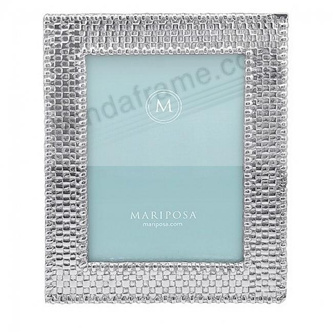 BASKETWEAVE frame for your 5x7 print by Mariposa®