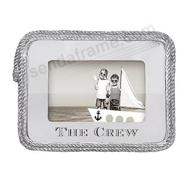 THE CREW 6x4 ROPE Statement Frame by Mariposa®