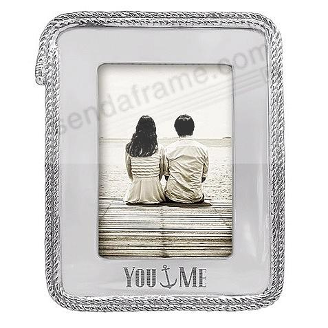 YOU {anchor} ME ROPE 5x7 Statement Frame by Mariposa®
