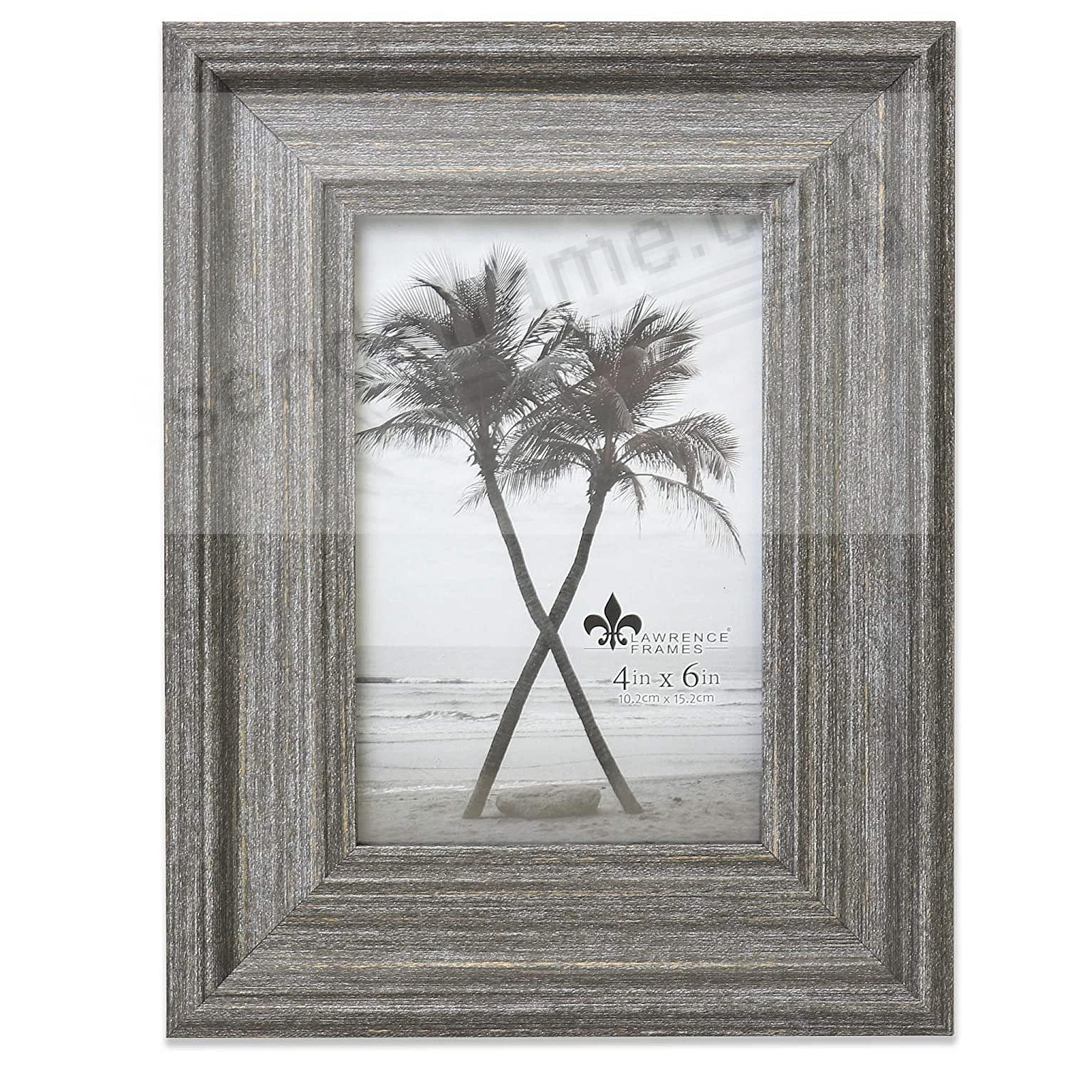 Antique GRAY MARLO 4x6 frame by Lawrence®