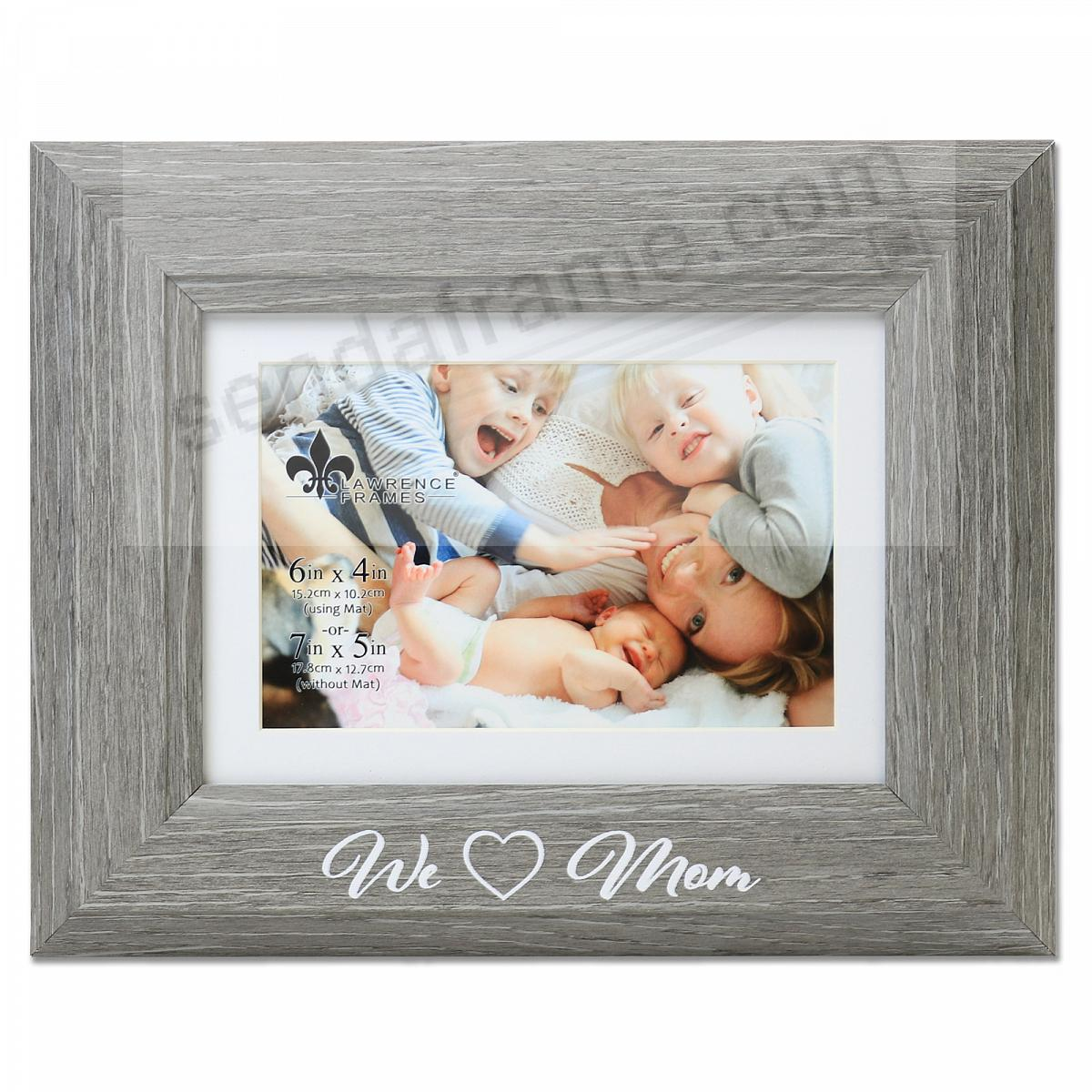 WE {HEART} MOM keepsake 7x5/6x4 frame