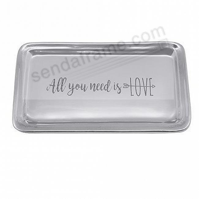 ALL YOU NEED IS LOVE STATEMENT TRAY by Mariposa®