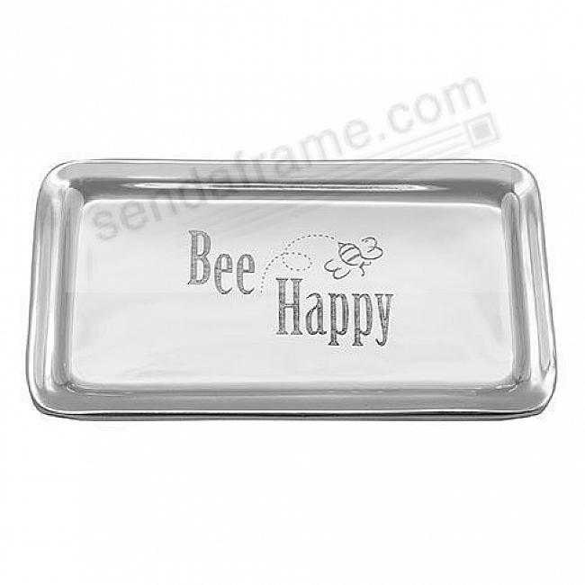 BEE HAPPY SIGNATURE STATEMENT TRAY by Mariposa®