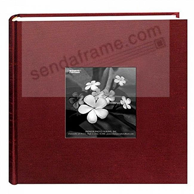 CRANBERRY SILK FABRIC by Pioneer® holds 200 photos