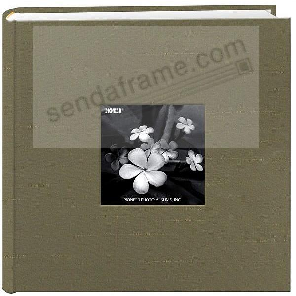 CARAMEL SILK FABRIC by Pioneer® holds 200 photos