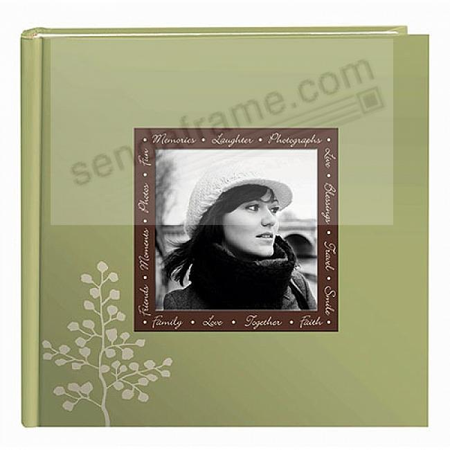 LEAVES 2-up photo album with raised cover frame by Pioneer®