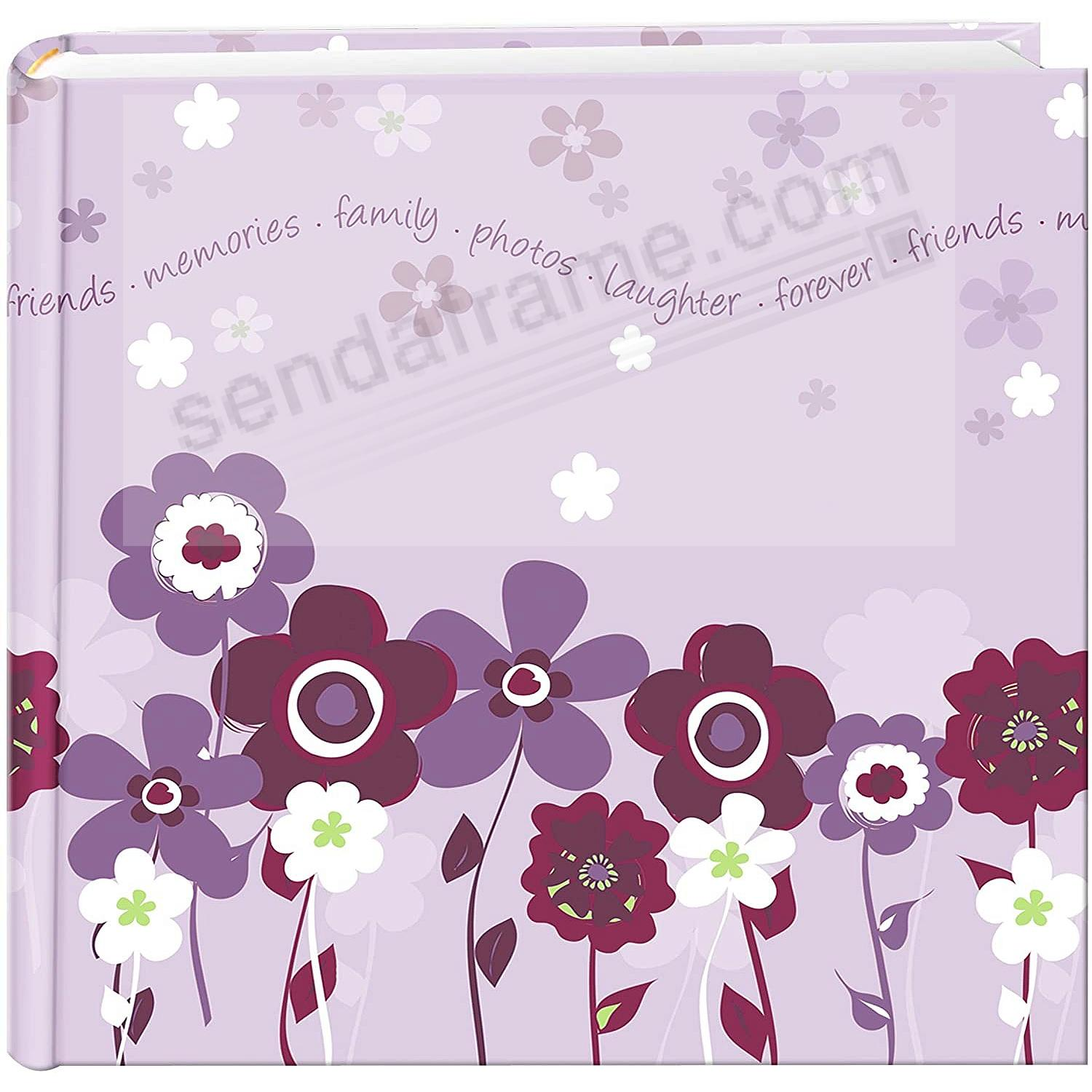 LAVENDER BLOOM 2-up 4x6 bookbound album by Pioneer®